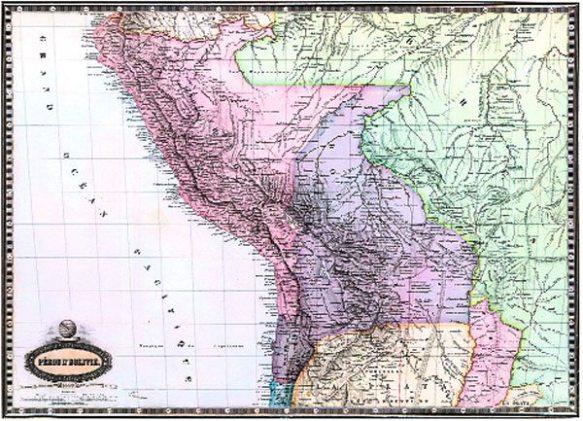 mapa de bolivia con litoral 02