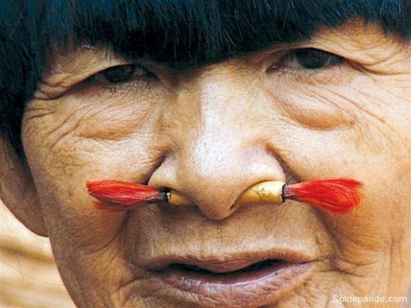 """Bose Yaju mujer Pacahuara recientemente fallecida. El drama de la extinción de nuestros pueblos indígenas (""""Sol de Pando"""""""