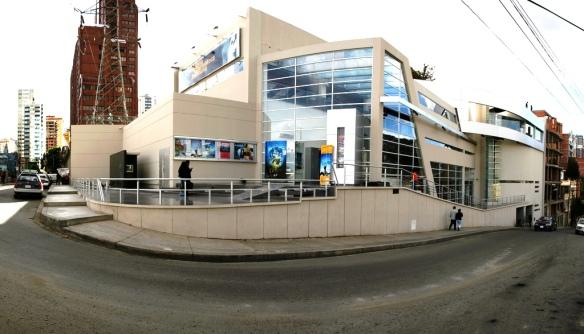 Complejo de la Cinemateca Boliviana en la ciudad de La Paz (2007)