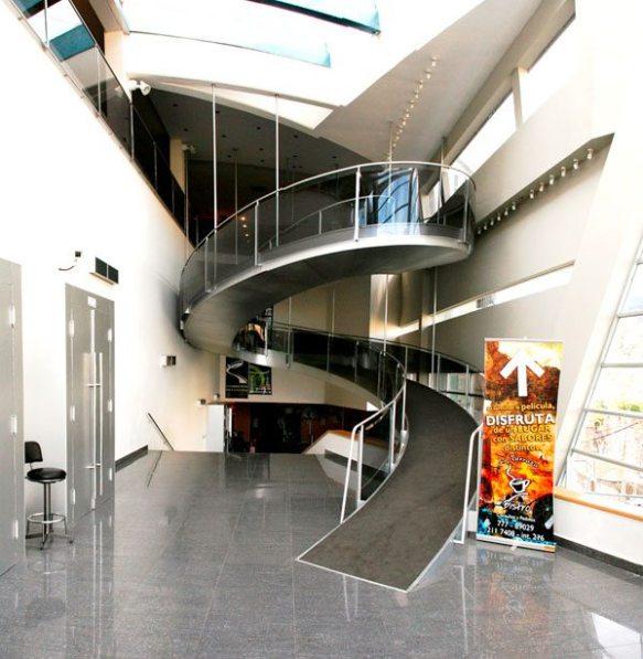 Interior del nuevo edificio de la Cinemateca inaugurado en 2007