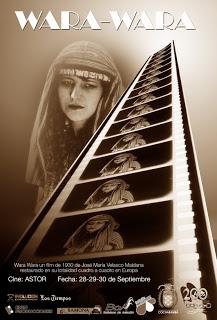 Wara Wara (1930) de José  M. Velasco M. Película clave del cine boliviano restaurada por la Cinemateca