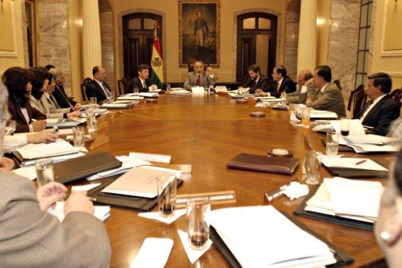 50 gabinete en los días de la crisis final mayo 05