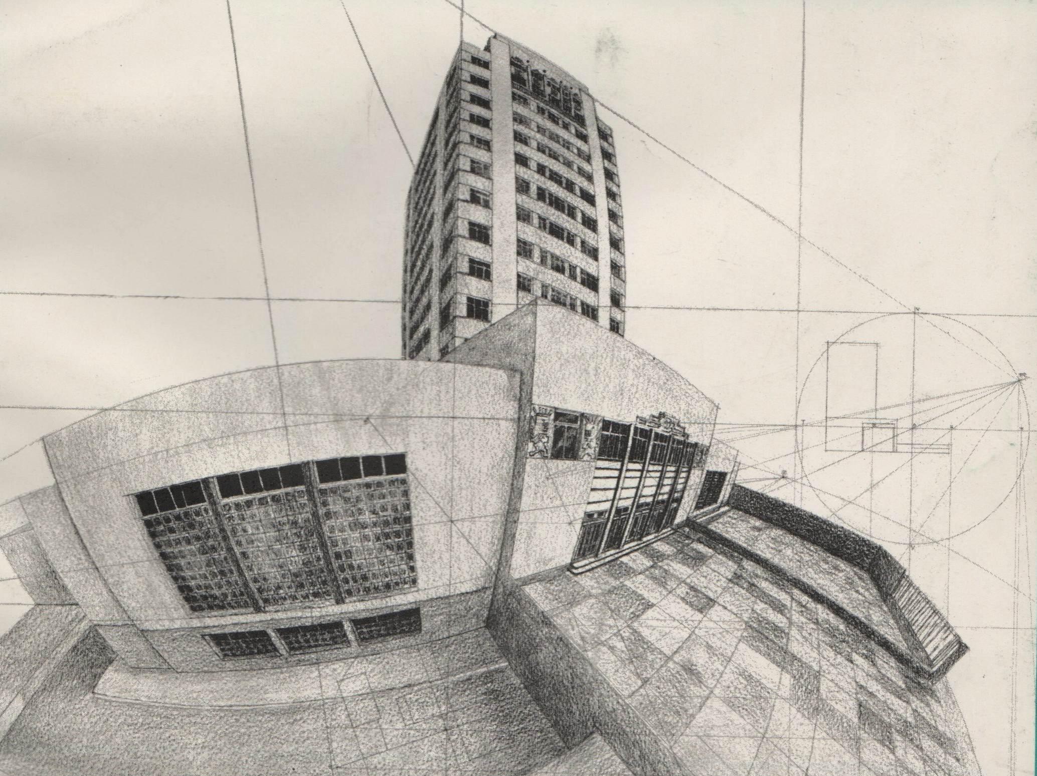 El monoblock de la umsa obra maestra de la arquitectura boliviana del s xx carlos diego de - Mesa de dibujo para arquitectura ...