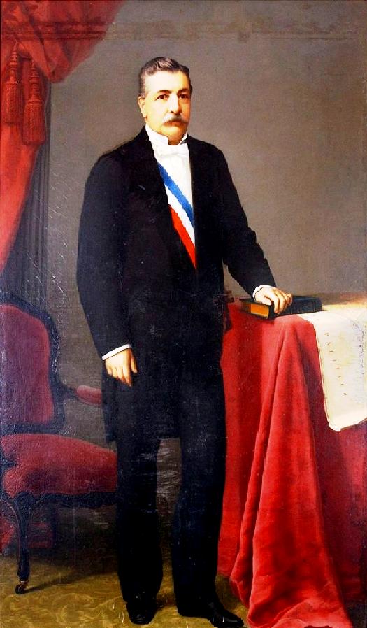 Domingo Santa María, cuando era Ministro de RR.EE. (1879) propició la política chilena en favor de otorgarle un puerto soberano a Bolivia