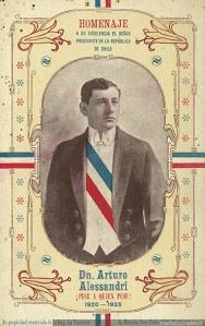 Presidente de Chile Arturo Alessandri