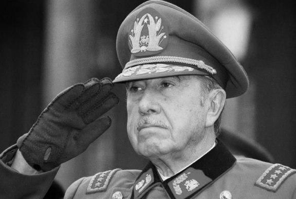 Presidente de Chile Augusto Pinochet