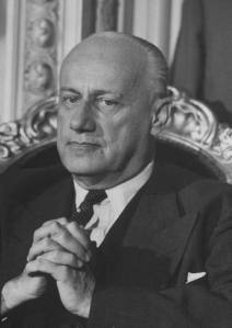 Presidente de Chile Jorge Alessandri