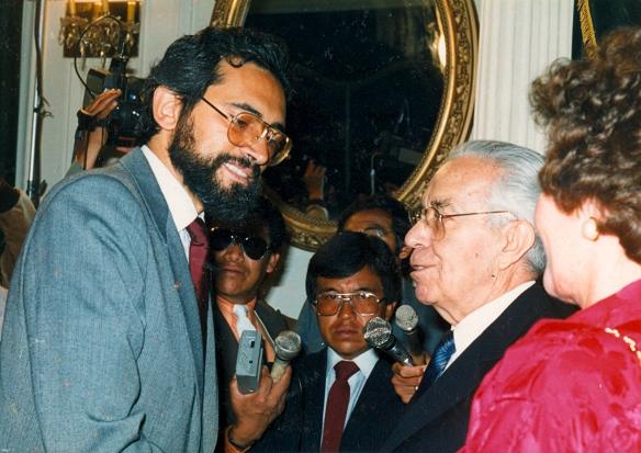 Víctor Paz Estenssoro (1952-1956/1940-1964/1964/1985-1989