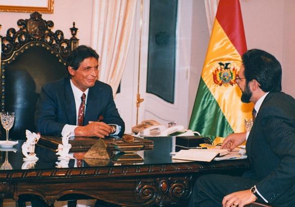 Jaime Paz Zamora (1989-1993)