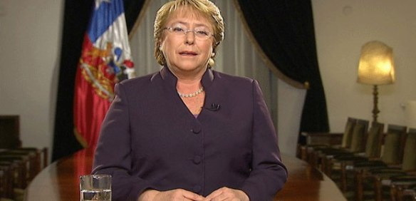 La Presidenta Bachelet anuncia que interpondrá una excepción de incompetencia ante la CIJ