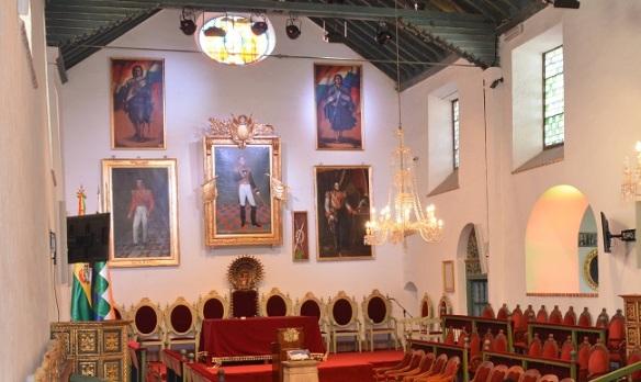 Salón Principal de la Casa de la Libertad en Sucre.