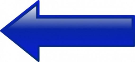 clip-de-flecha-izquierda-azul-del-arte_427536