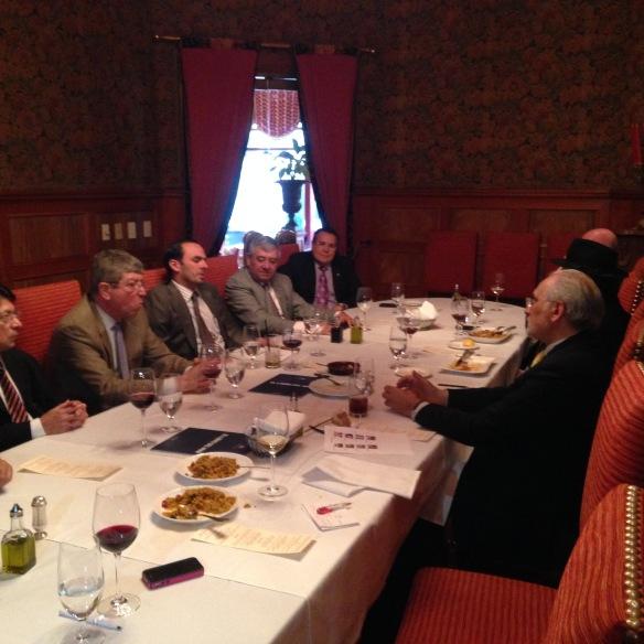 Con los representantes permanentes de Centroamérica ante la OEA (4/11/2014)