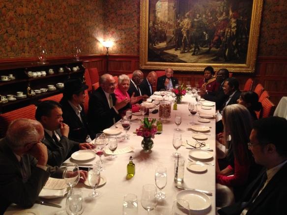 Con los representantes permanentes del Caribe ante la OEA (5/11/2014)