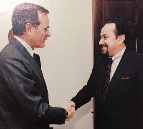 Miguel Schweitzer de Chile y José Ortiz Mercado de Bolivia