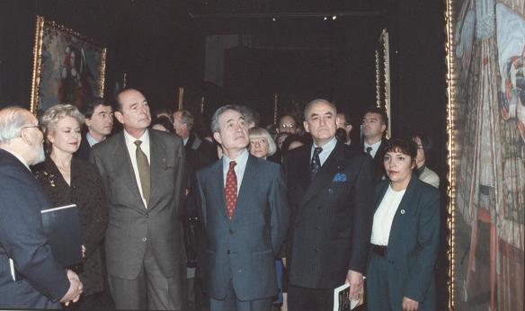1997 papá el retorno de los áng. Chirac